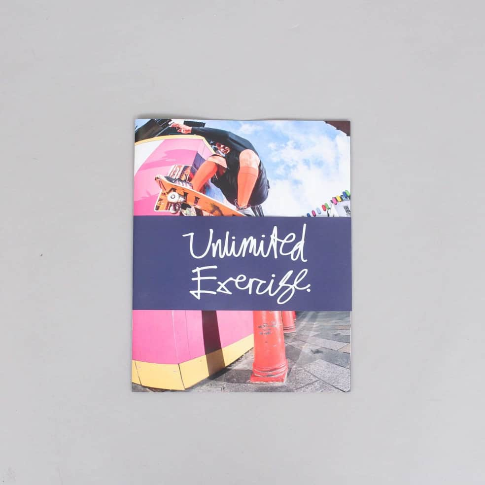 Unlimited Exercise Magazine by Blondey | Magazine by Thames MMXX 1