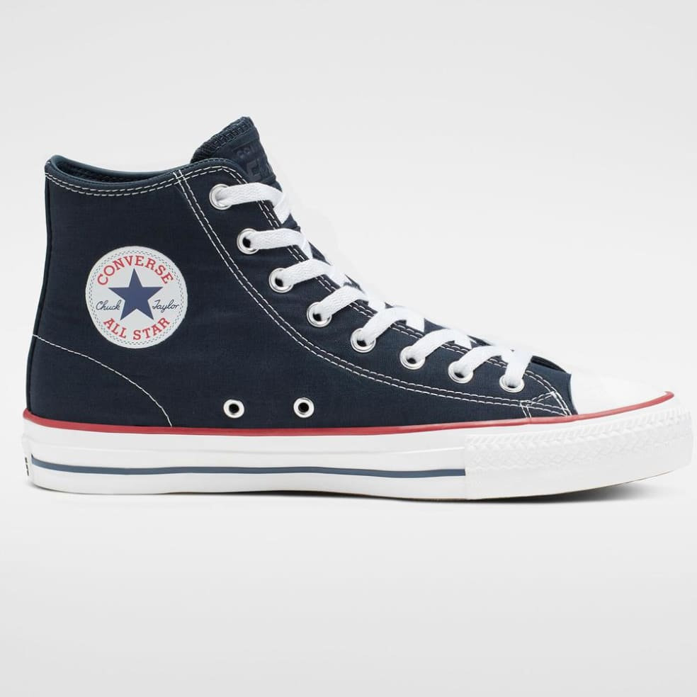 Converse Cons CTAS Pro Hi Obsidian / White / Enamel Red | Shoes by Converse 2