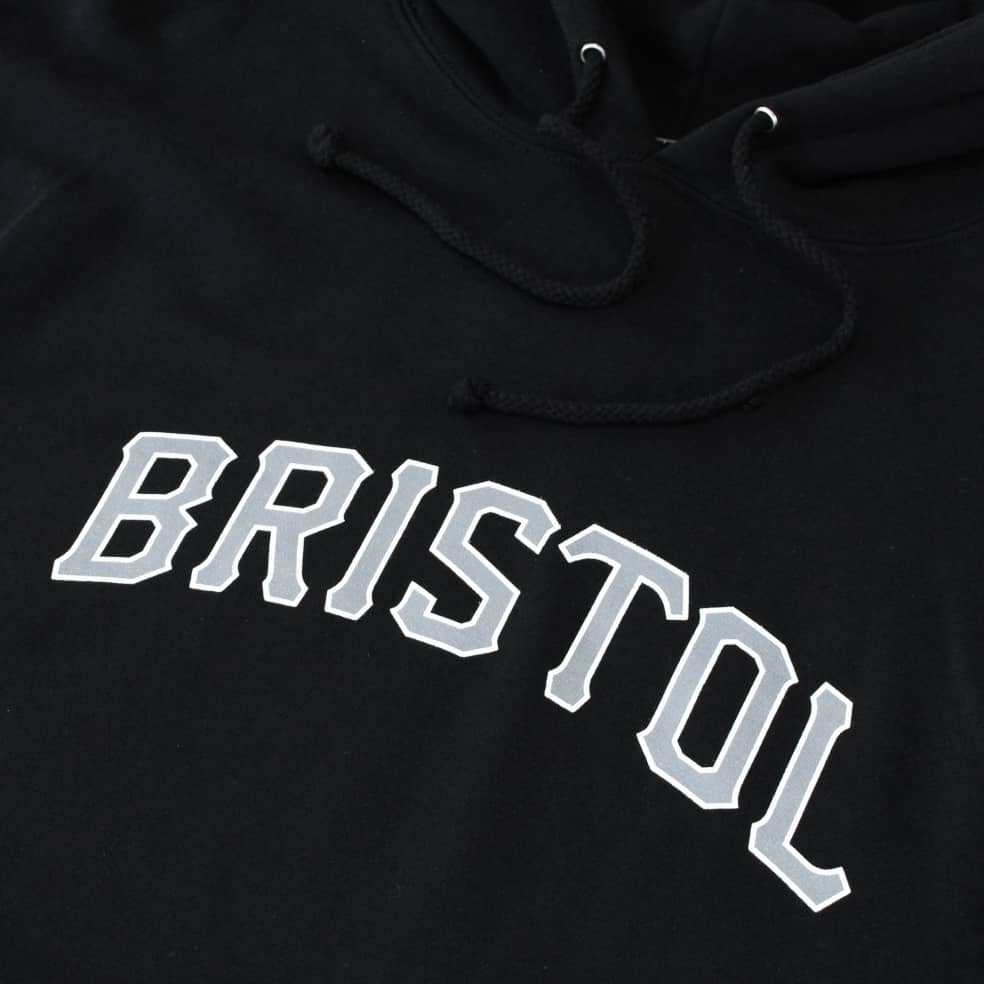 Fifty Fifty Bristol Hood Black   Hoodie by Fifty Fifty Store 2