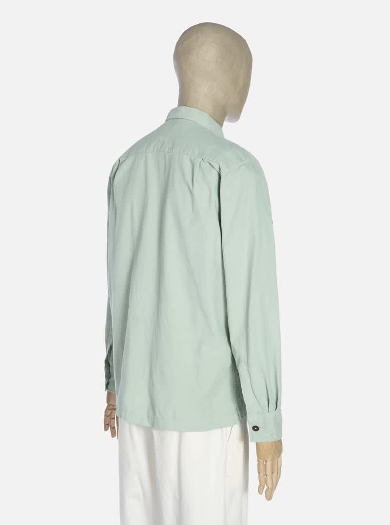 Universal Works Treck Shirt - Cool Green | Shirt by Universal Works 2