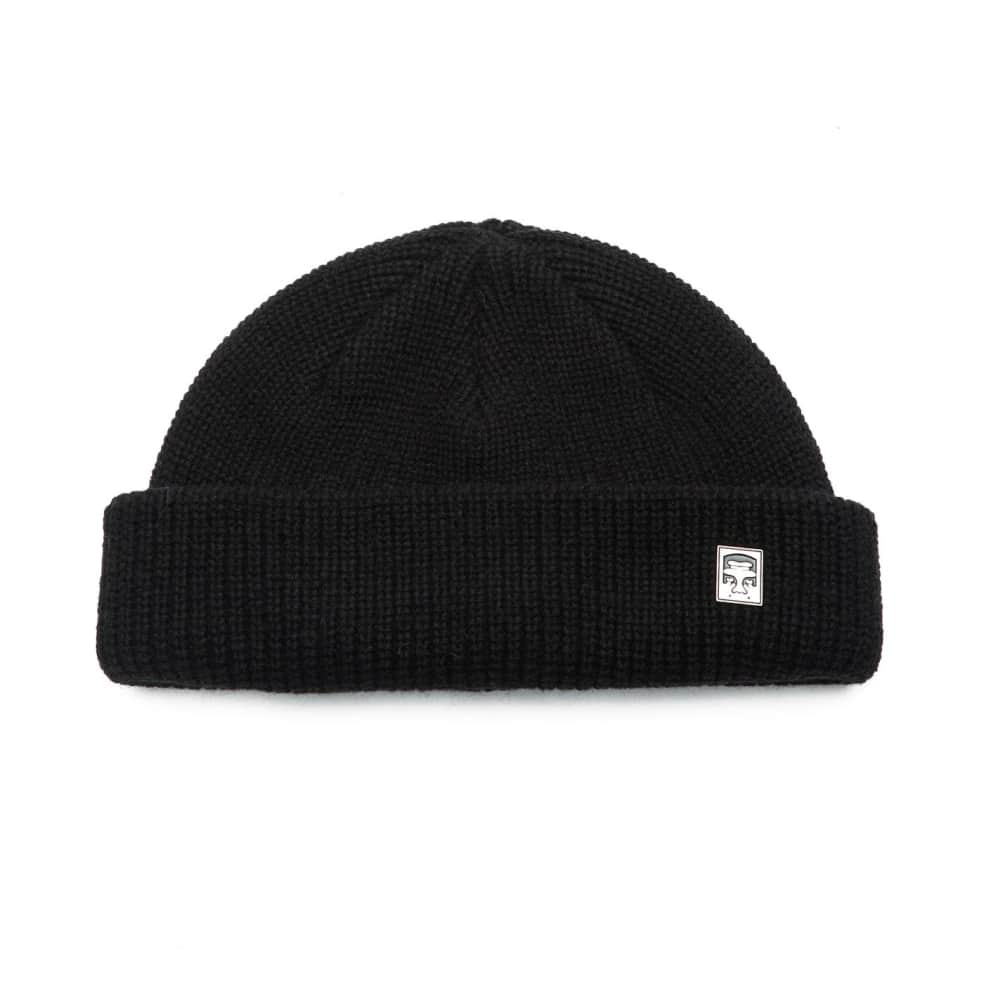 Obey Micro Beanie - Black | Beanie by OBEY Clothing 1