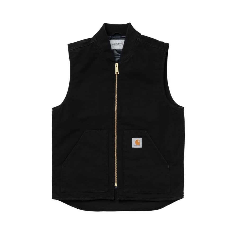 Carhartt WIP Classic Vest: Black | Gilet by Carhartt WIP 1