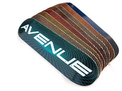 """Avenue 'Submit' Deck (light blue wood) 8.0"""" 