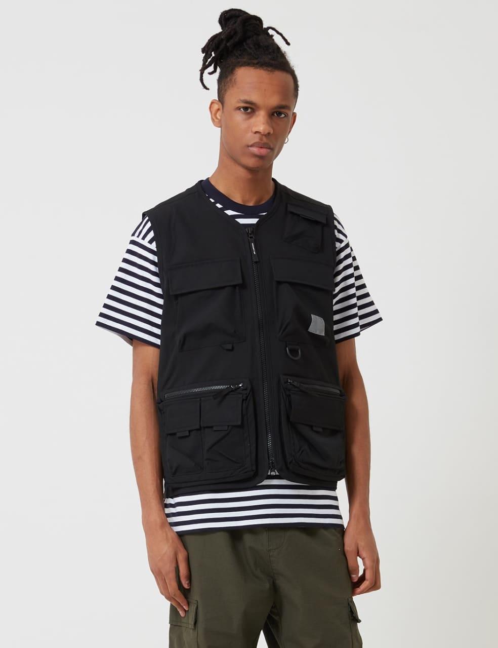 Carhartt-WIP Elmwood Vest (Stretch) - Black | Gilet by Carhartt WIP 1
