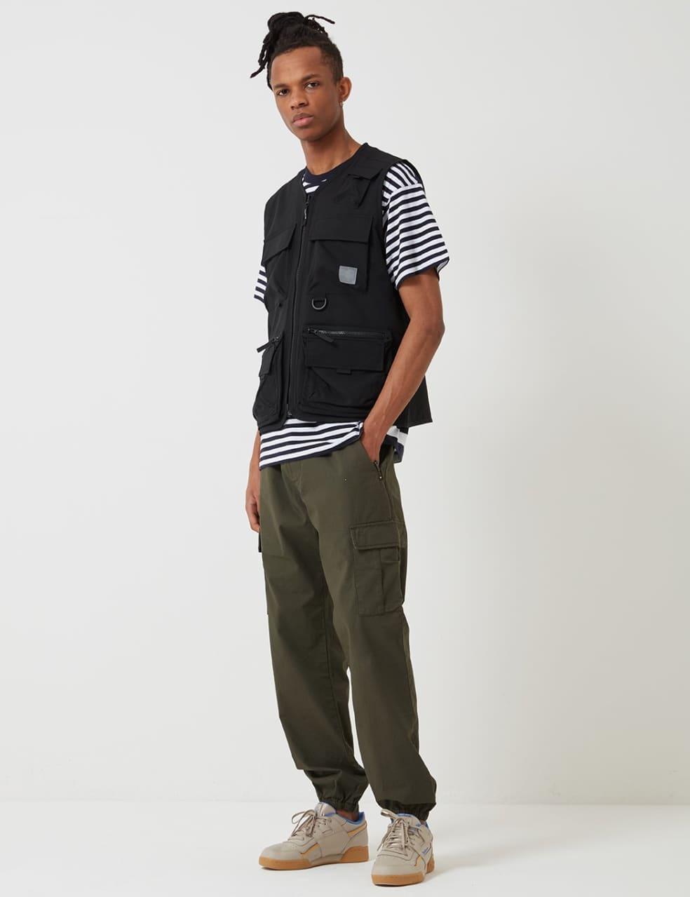 Carhartt-WIP Elmwood Vest (Stretch) - Black | Gilet by Carhartt WIP 3