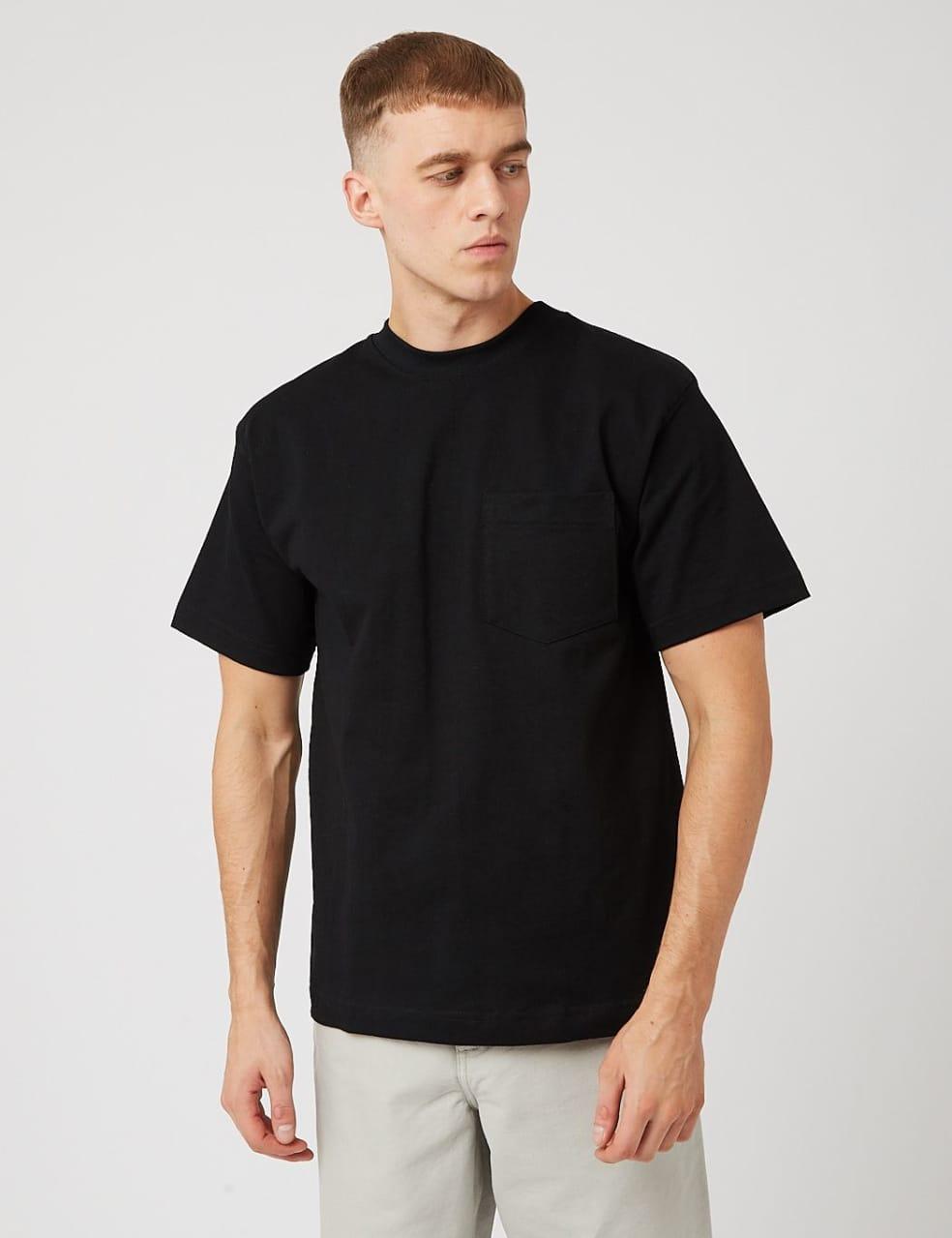 Camber Pocket T-shirt (8oz) - Black | T-Shirt by Camber USA 1