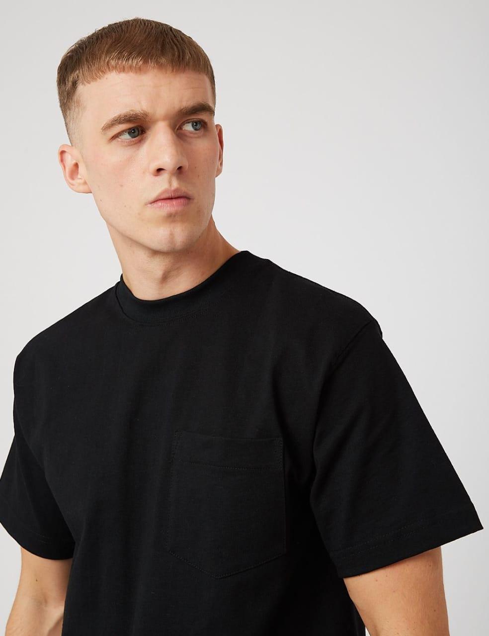 Camber Pocket T-shirt (8oz) - Black | T-Shirt by Camber USA 2