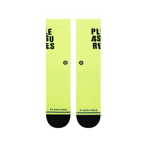 Stance Socks - Stance Pleasures Socks | Yellow | Socks by Stance Socks 3