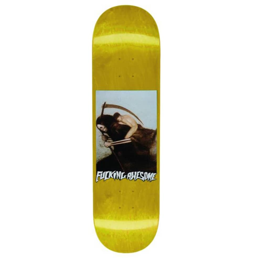 """Fucking Awesome - Fucking Awesome Ave Personification of Death Skateboard Deck 