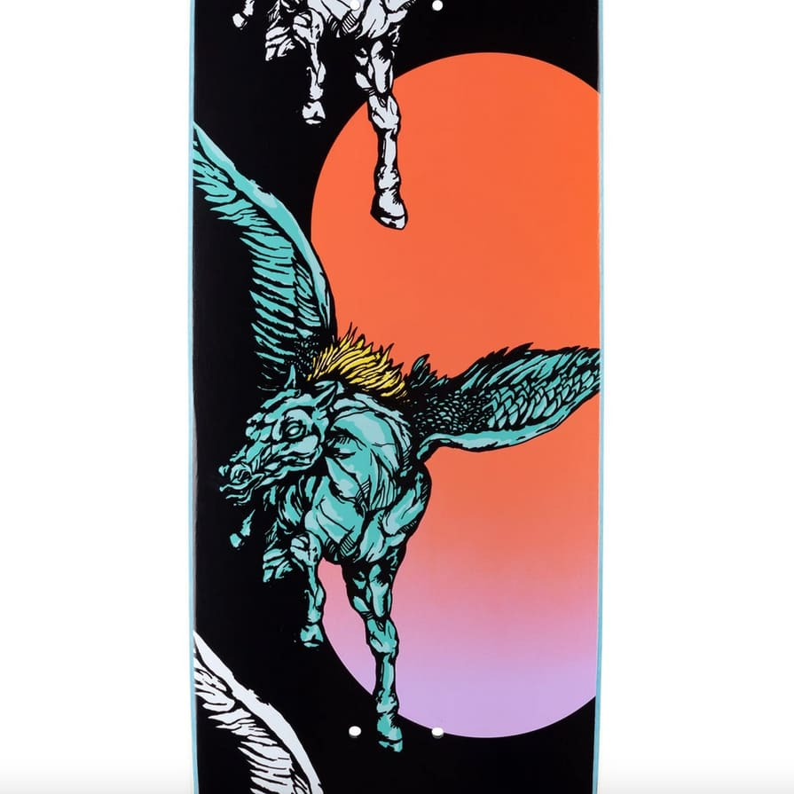 Peggy on Son of Moontrimmer (Black) Deck 8.25 | Deck by Welcome Skateboards 2