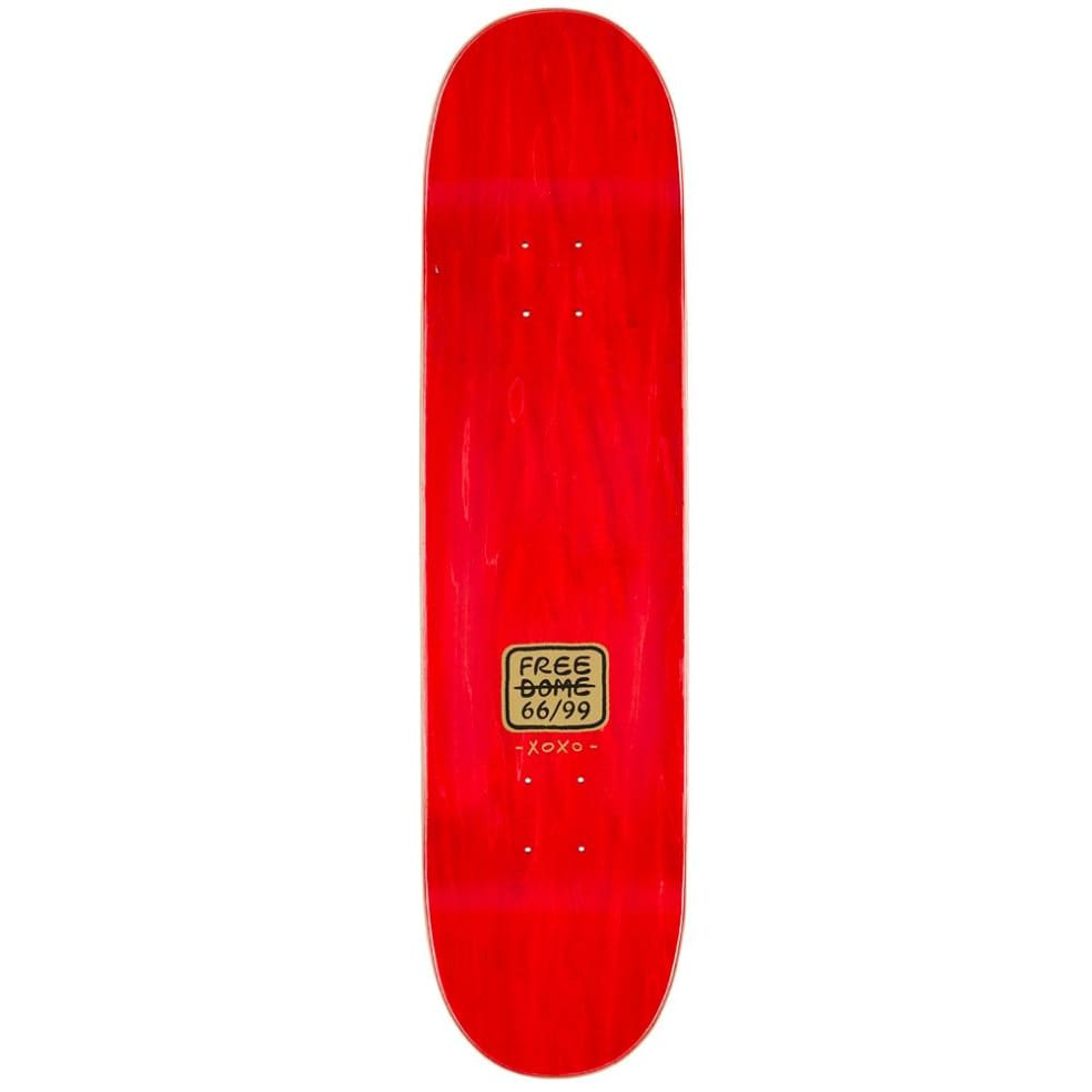 """Free Dome Skateboards - Bad Pussy Deck 8"""" Wide   Deck by Free Dome Skateboards 2"""
