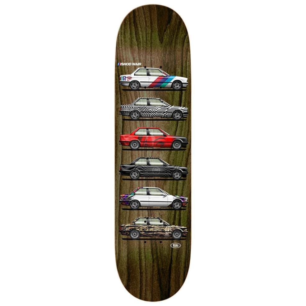 """Real Skateboards - Ishod Customs Twin Tail Deck 8.25"""" Wide 