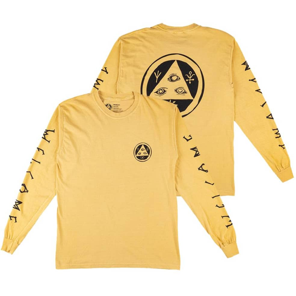 Welcome Tali-Scawl Garment Dyed Long Sleeve T-Shirt | Longsleeve by Welcome Skateboards 1