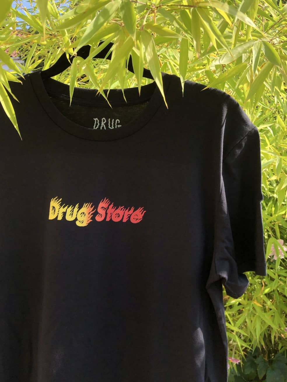 Drug Store HOT FADE! Tee Black   T-Shirt by Drug Store 1