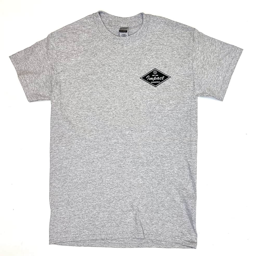 IMPACT Staple Tee Athletic Heather   T-Shirt by Impact Skate 2