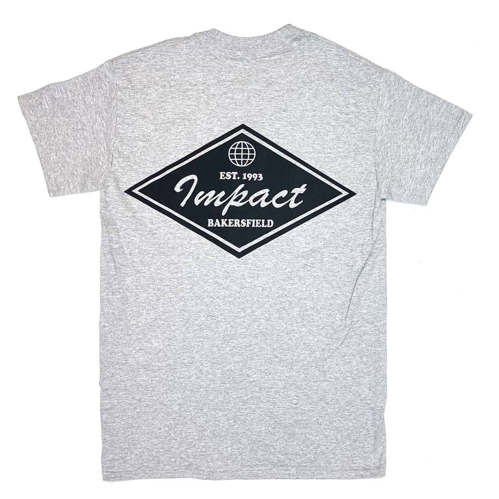 IMPACT Staple Tee Athletic Heather   T-Shirt by Impact Skate 1