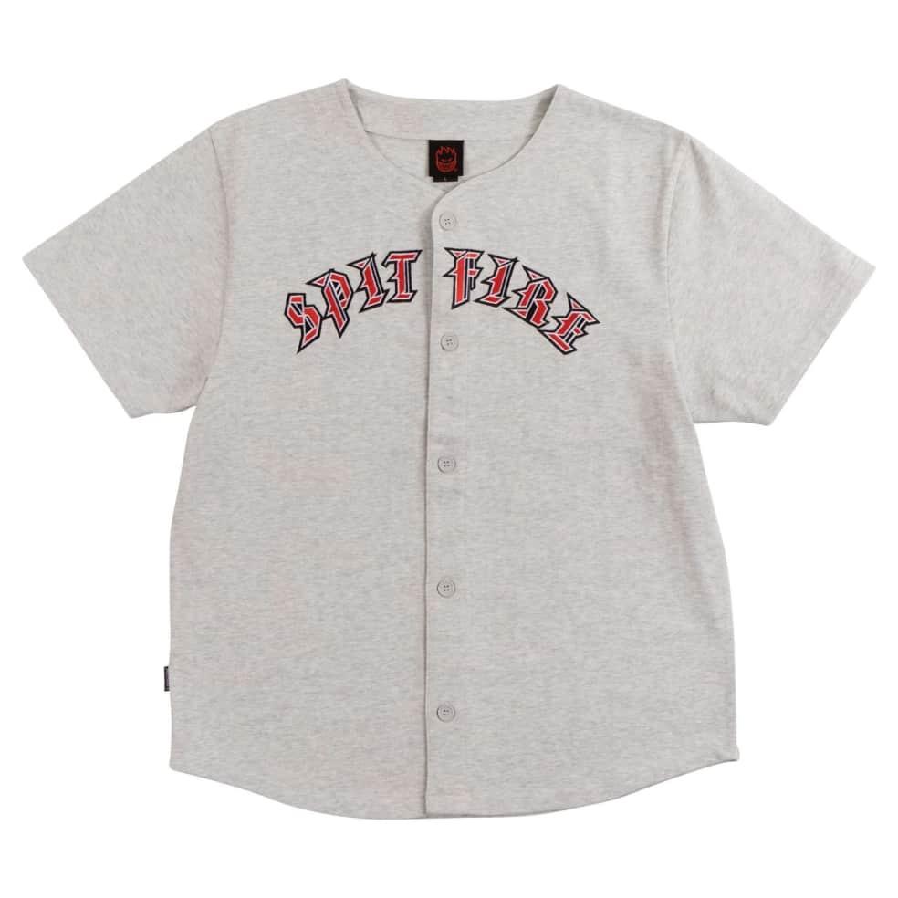 SPITFIRE Old E Jersey Ash Heather | T-Shirt by Spitfire Wheels 1
