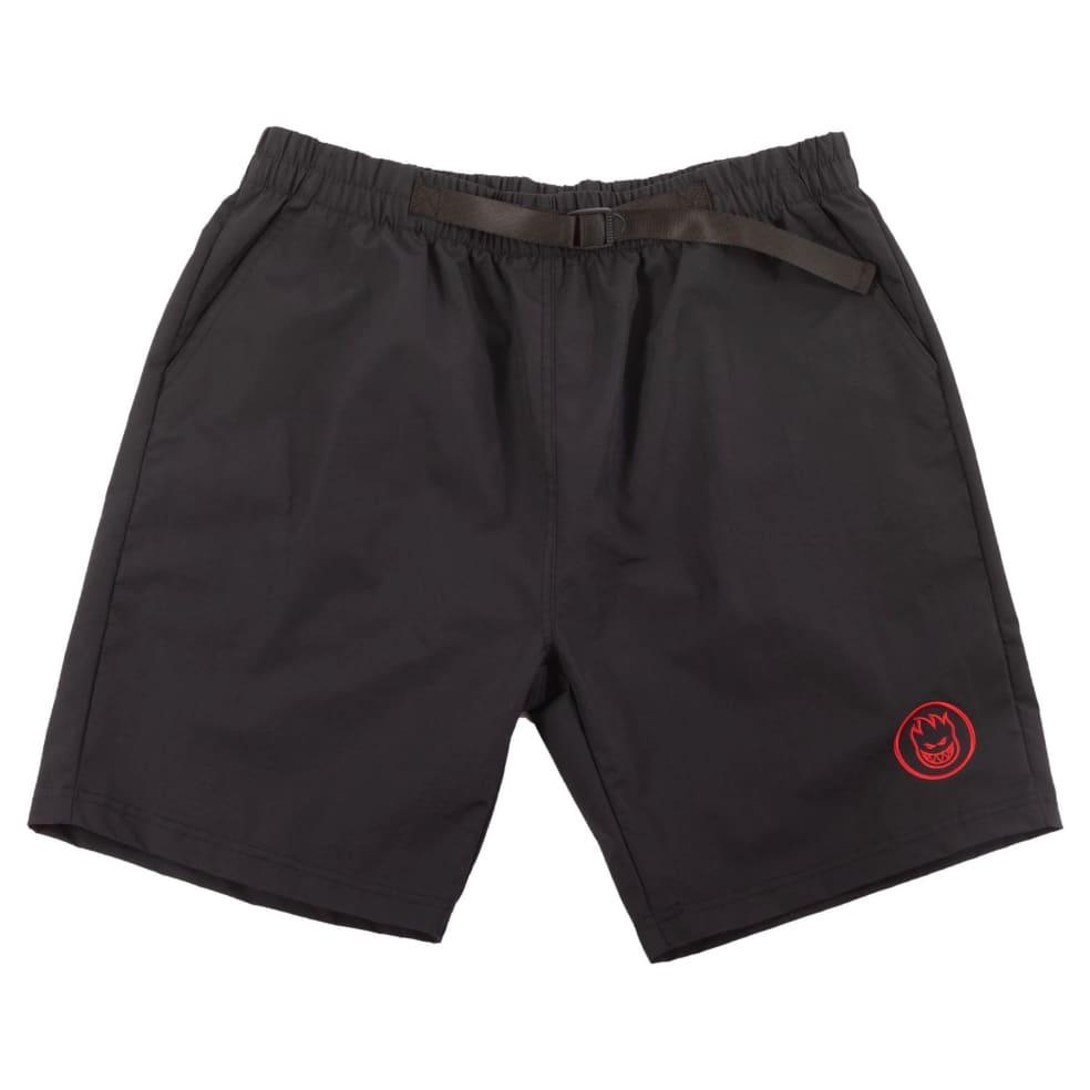SPITFIRE Bighead Circle Nylon Shorts Black   Shorts by Spitfire Wheels 1