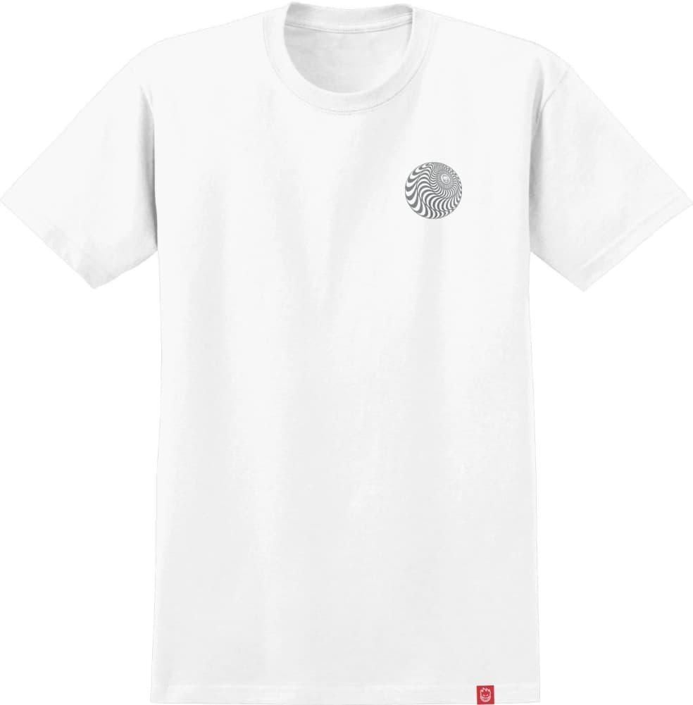 SPITFIRE Skewed Classic Tee White/Metallic | T-Shirt by Spitfire Wheels 2