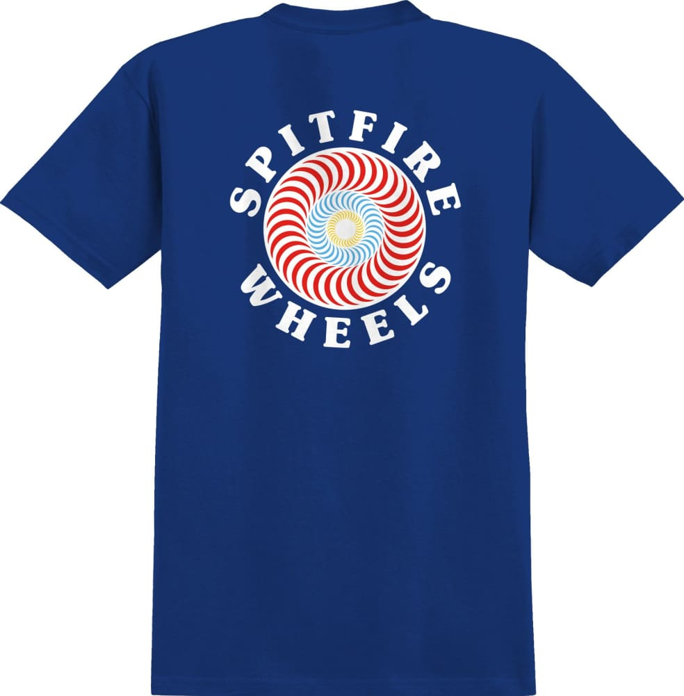 SPITFIRE Youth OG Classic Fill Tee Royal   T-Shirt by Spitfire Wheels 1