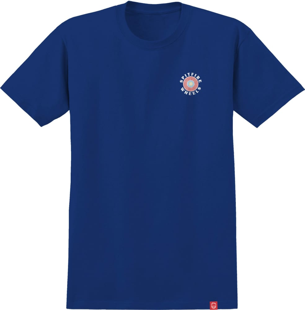 SPITFIRE Youth OG Classic Fill Tee Royal   T-Shirt by Spitfire Wheels 2
