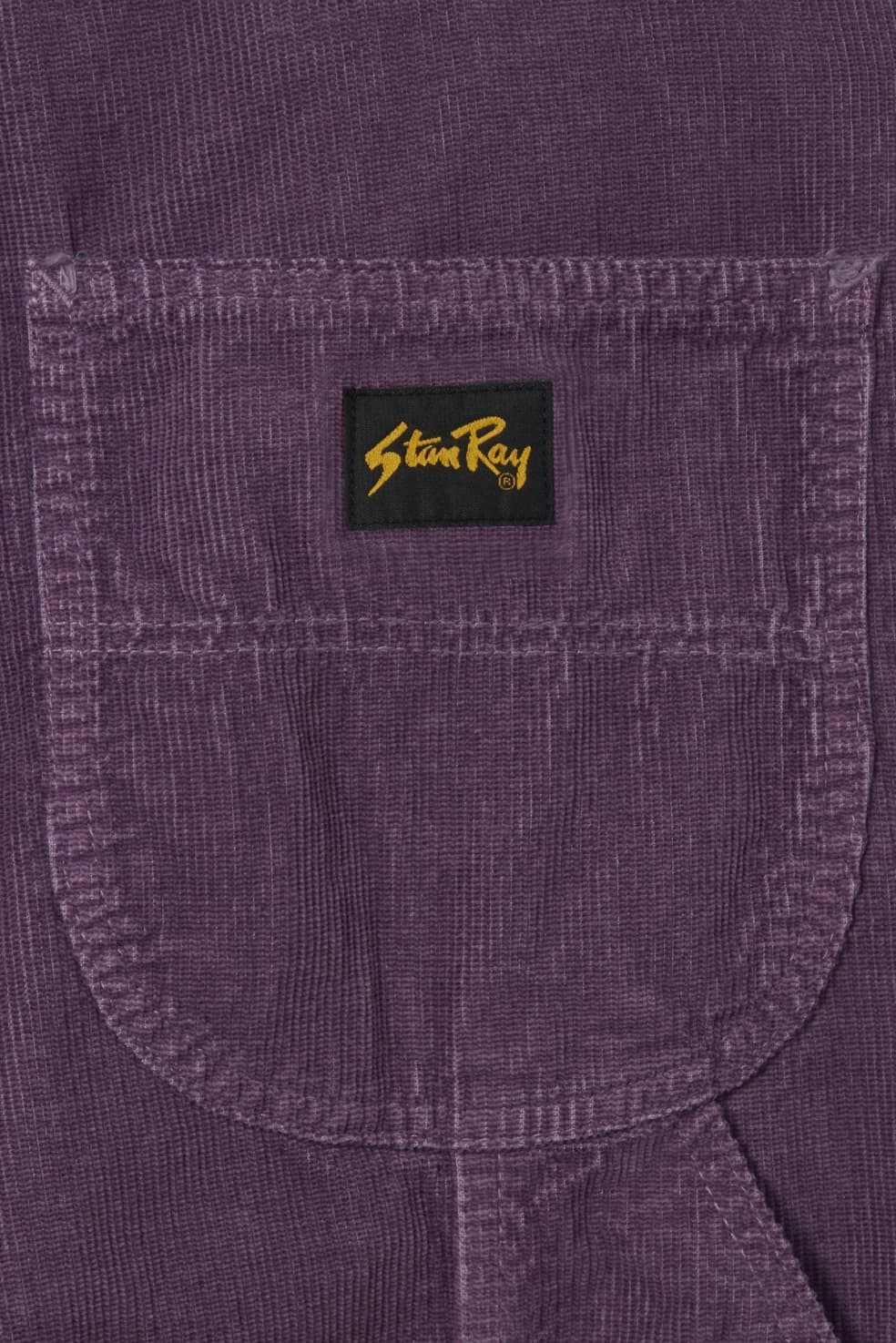 Stan Ray - 80's Painter Pant - Crushed Purple Cord | Trousers by Stan Ray 3