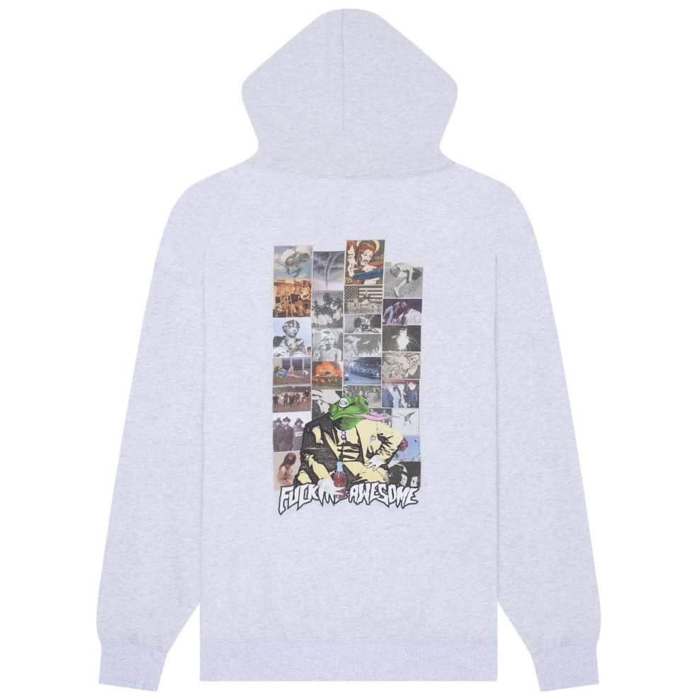 Fucking Awesome Frogman 2 Hoodie - Heather Grey | Hoodie by Fucking Awesome 1