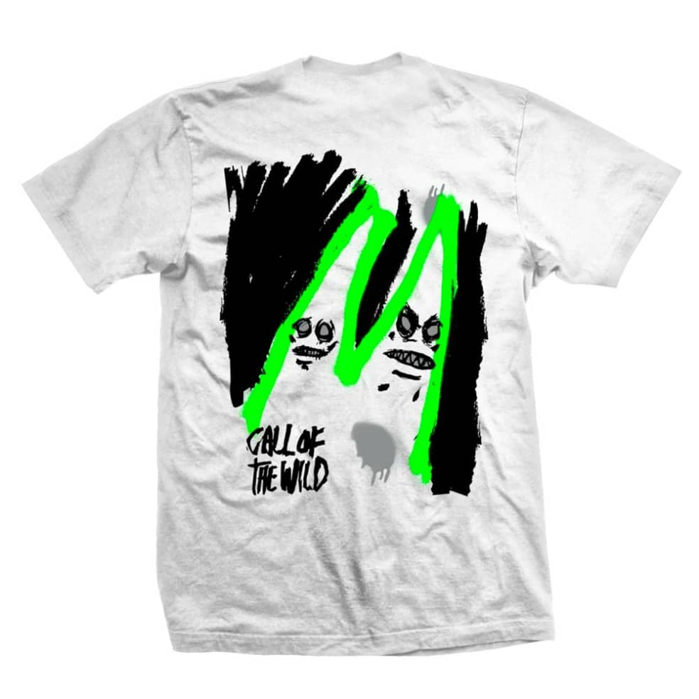 Heroin Skateboards - Call Of The Wild T Shirt | T-Shirt by Heroin Skateboards 1