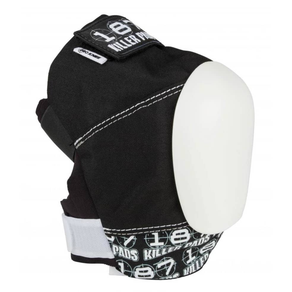 187 'Pro' Knee Pads (Black / White) | Pads by 187 Killer Pads 2