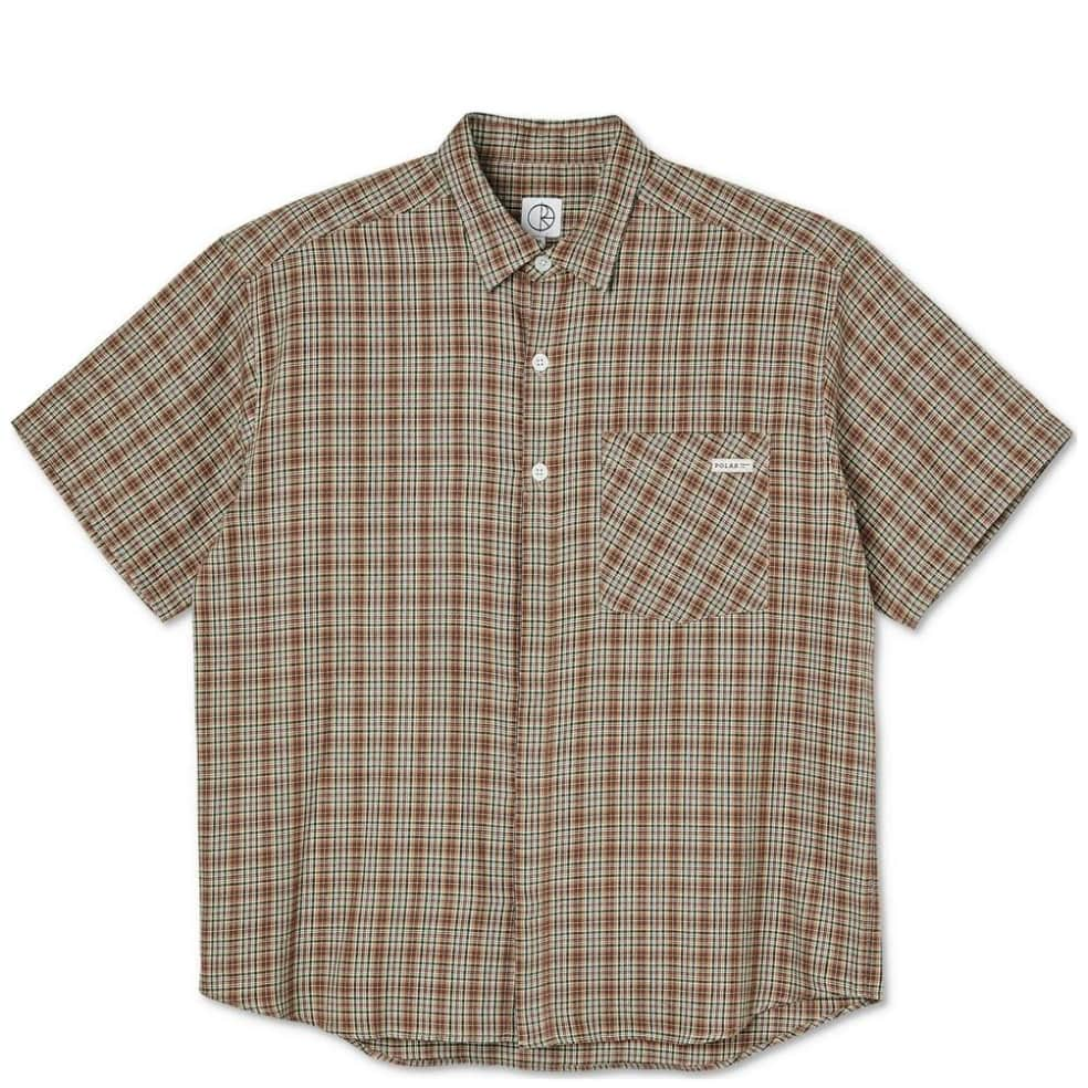 Polar Skate Co Mitchell Flannel Shirt - Brown | Shirt by Polar Skate Co 1