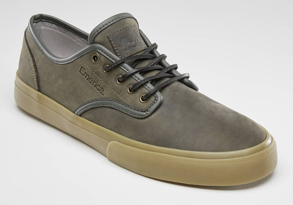 Emerica Wino Standard Skate Shoes - Olive / Gum | Shoes by Emerica 2