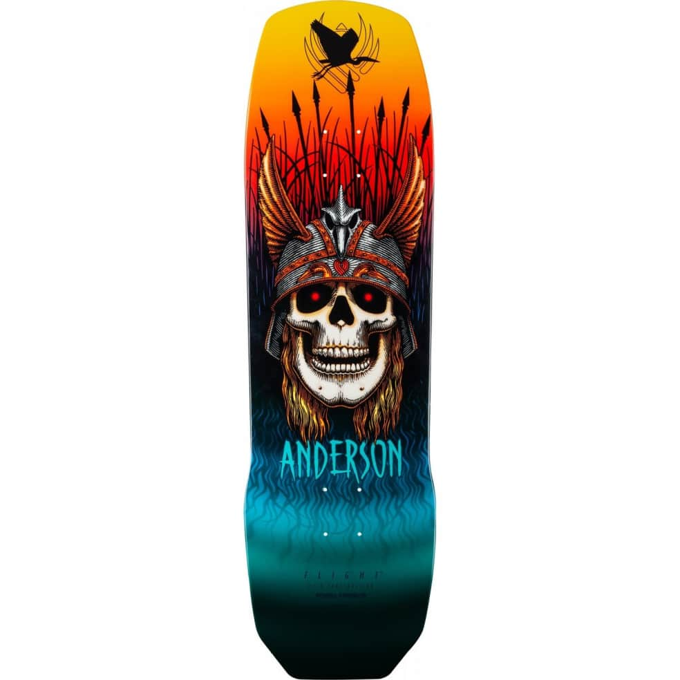 Powell Peralta Pro Andy Anderson Heron Flight® Skateboard Deck 9.13 x 32.8 | Deck by Powell Peralta 1