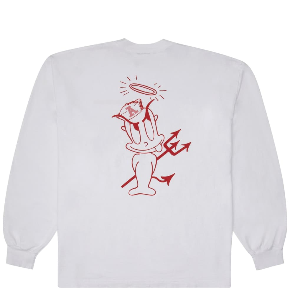 Andrew Rascal Long Sleeve T-Shirt - White | Longsleeve by Andrew 1