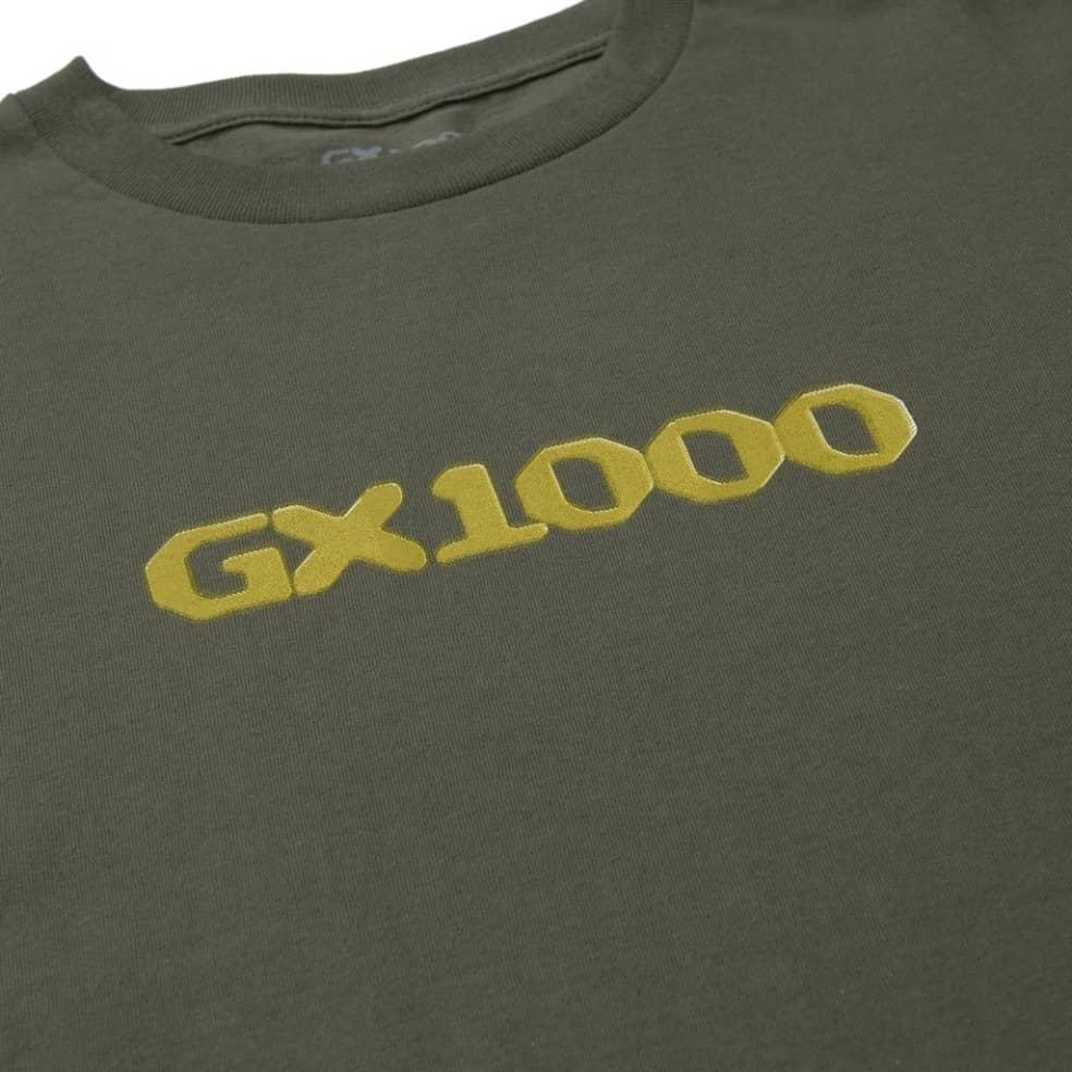 GX1000 Dithered Logo T-Shirt - Military Green | T-Shirt by GX1000 2