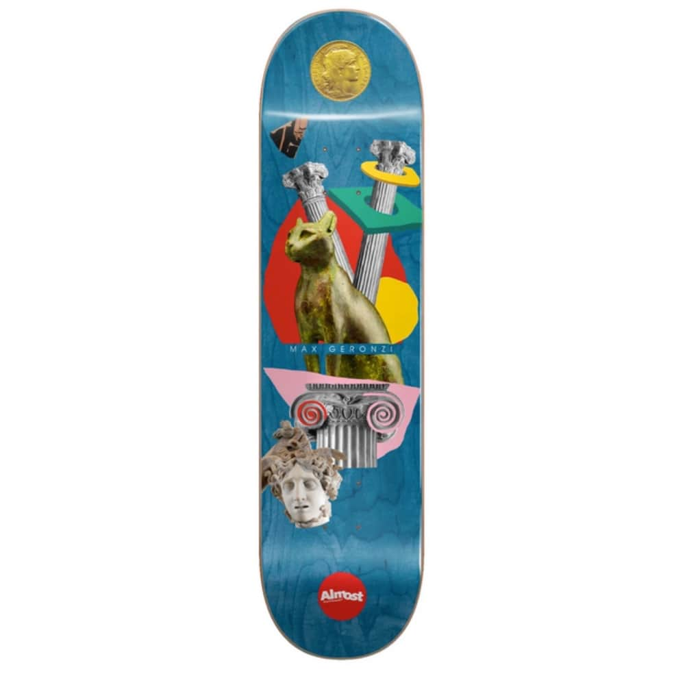 """Max Geronzi Relics Deck 8.125"""" 