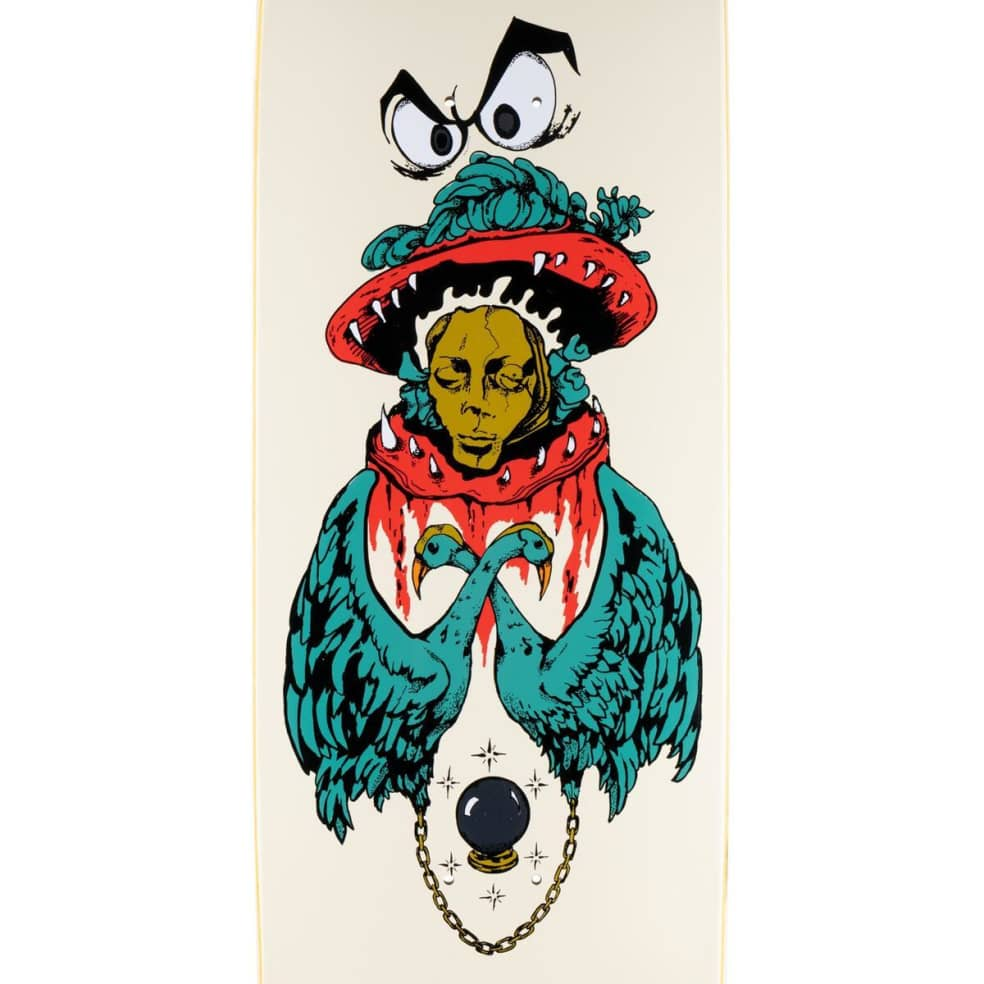 """Welcome Victim of Time on Baculus 2 Deck 9.0"""" (Bone)   Deck by Welcome Skateboards 2"""