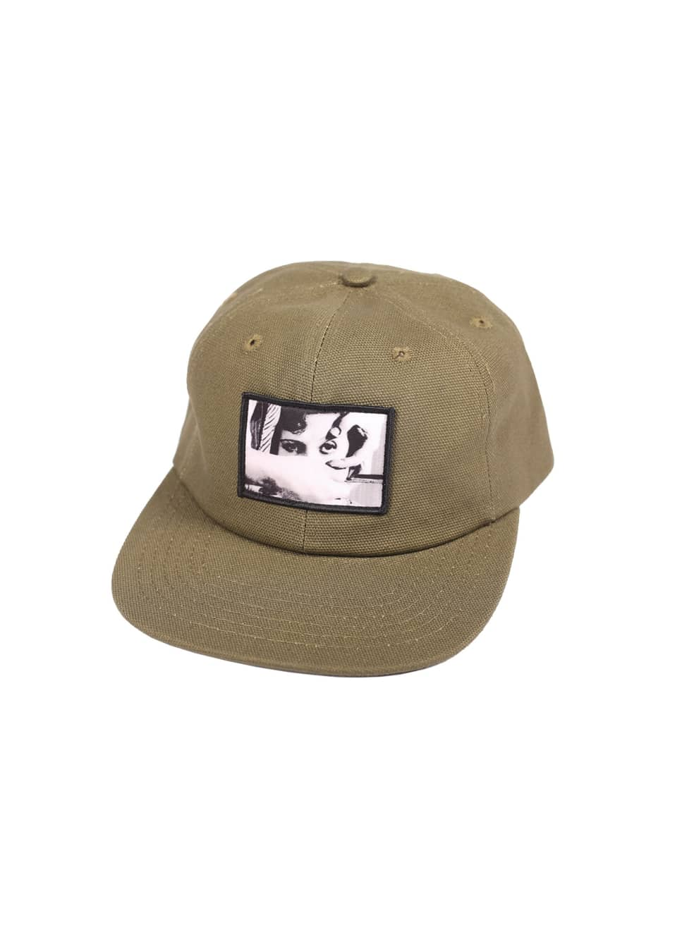 """PICTURE SHOW-""""ANDALOU SNAPBACK HAT""""(OLIVE)   Snapback Cap by Picture Show Studios 1"""