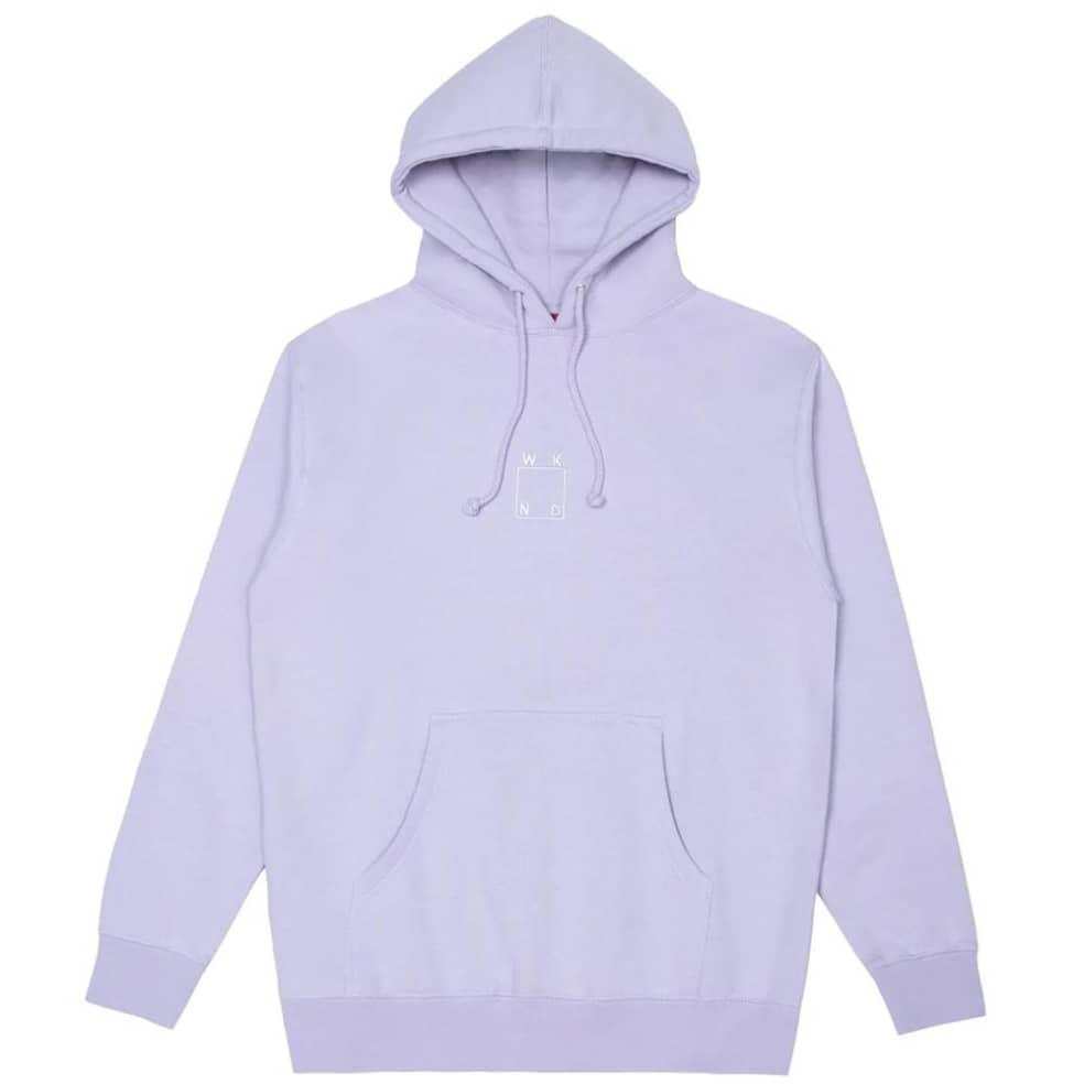 WKND Embroidered Logo Hoodie - Lavender | Hoodie by WKND 1
