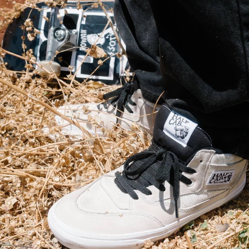 Vans x Baker Skate Half Cab '92 Shoes - White / Bandana | Shoes by Vans 3