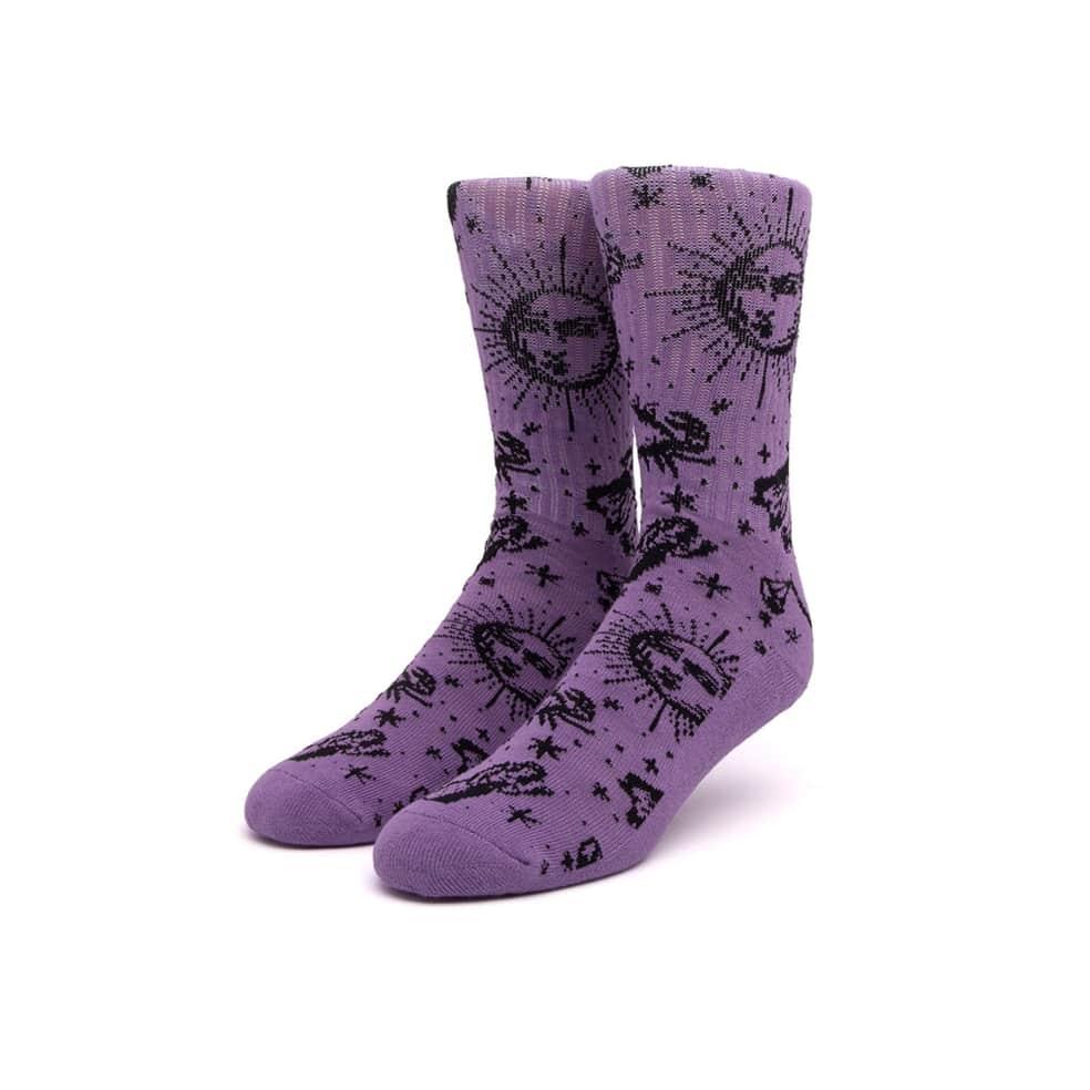 HUF Zodiac Socks - Purple | Socks by HUF 1