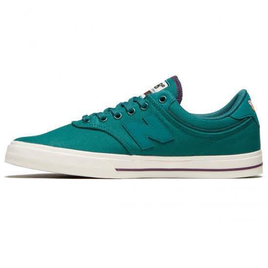 New Balance Numeric Franky Villani 255 Shoes - Green / White | Shoes by New Balance 2