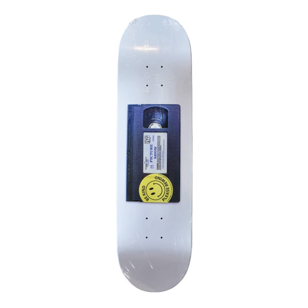"""PICTURE SHOW SKATEBOARDS CASSETTE SKATEBOARD DECK 8.5""""   Deck by Picture Show Studios 1"""