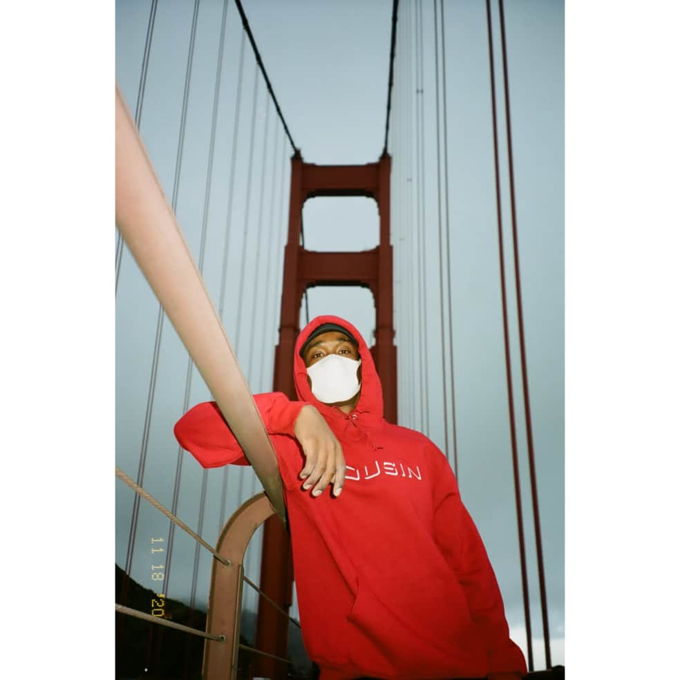 Cousin Records CR Hoodie - Cardinal | Hoodie by Cousin Records 3