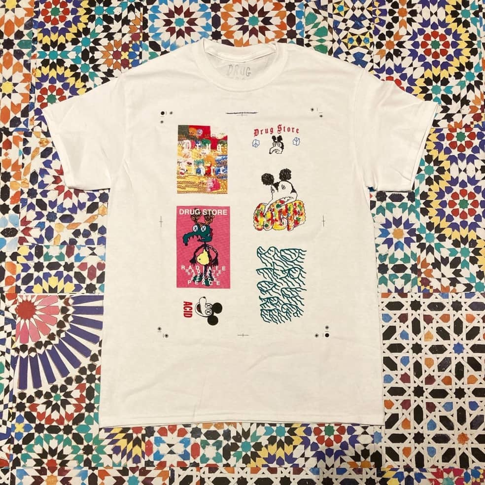 Drug Store Patchy tee   T-Shirt by Drug Store 1