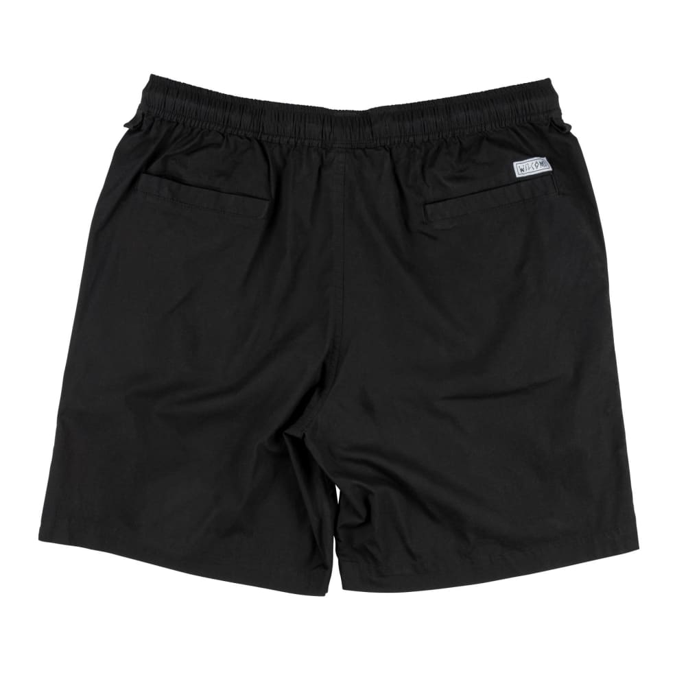 WELCOME Soft Core Elastic Shorts Black | Shorts by Welcome Skateboards 2