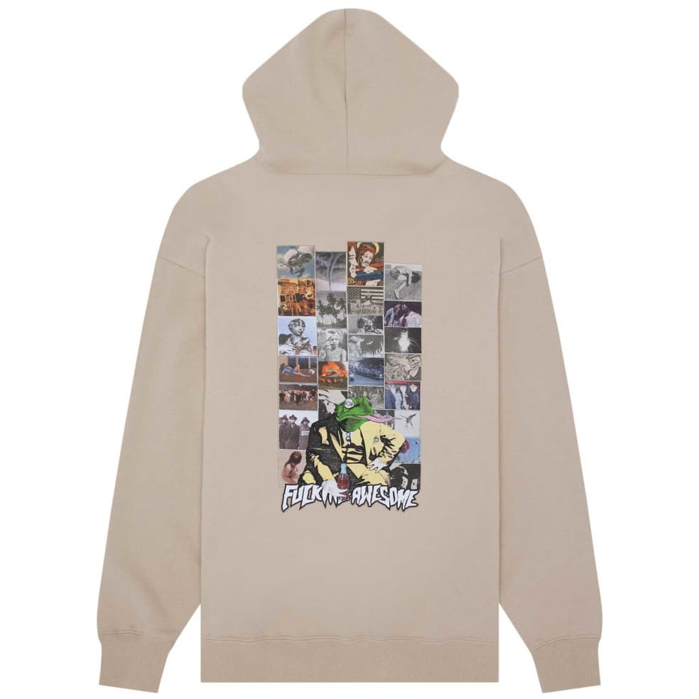 Fucking Awesome Frogman 2 Hoodie - Sand | Hoodie by Fucking Awesome 1