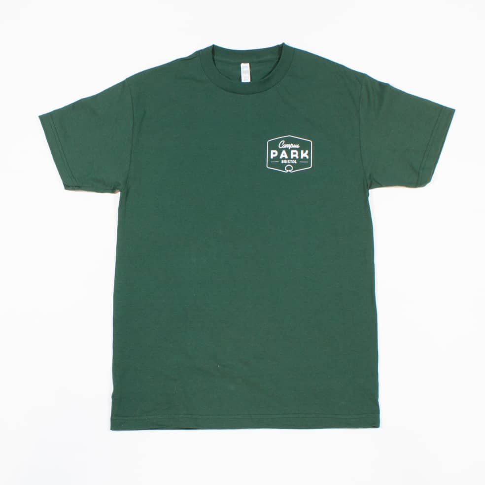 Campus Park Ranger T- Shirt - Forest Green | T-Shirt by Campus Skate Store 1