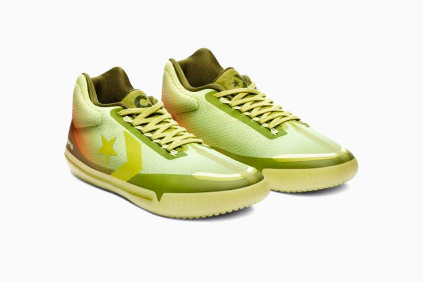 Converse X Concepts All Star BB Evo Mid Shadow -Lime / Green Oasis   Shoes by Converse Cons 3