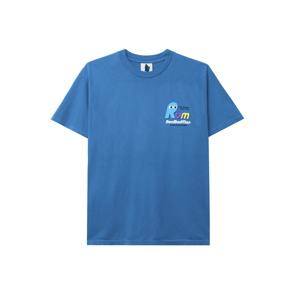 Real Bad Man Never Not Open T-Shirt - Blusey   T-Shirt by Real Bad Man 2
