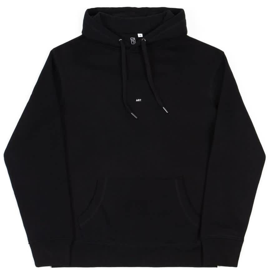 Poetic Collective Doodle Embroidered Hoodie - Black | Hoodie by Poetic Collective 2